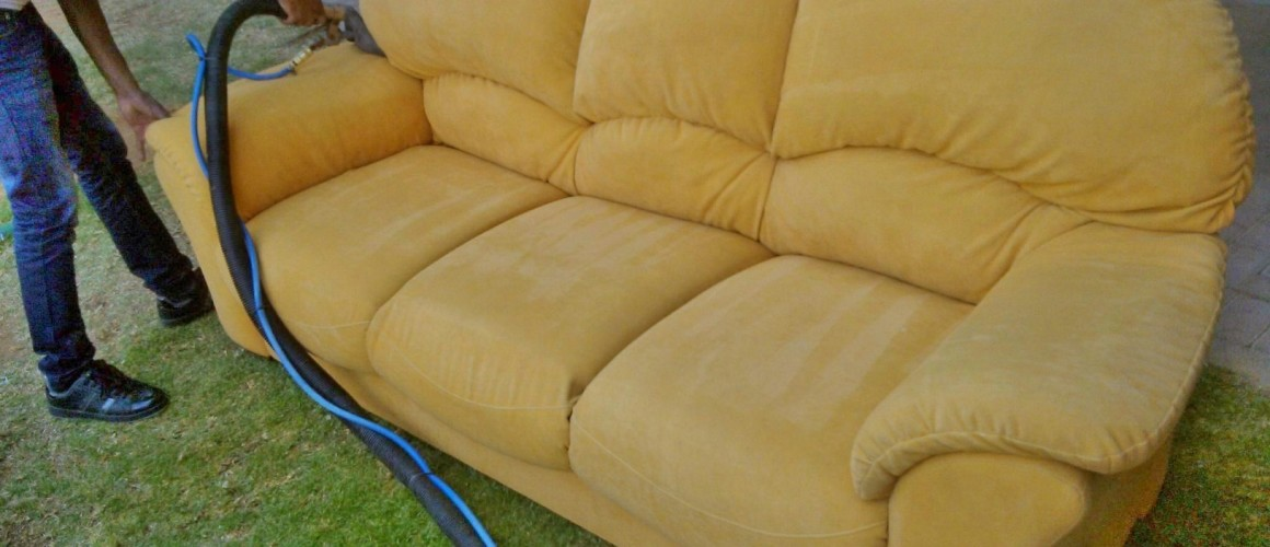 sofa cleaning after